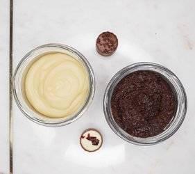 Peeling solny - czekolada z miodem Lullalove