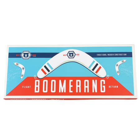 Drewniany bumerang, Dziki Niedźwiedź, Rex London
