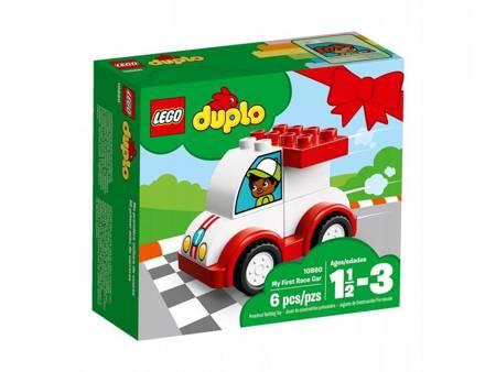 KLOCKI LEGO 10860 Duplo Moja pierwsza wyścigówka