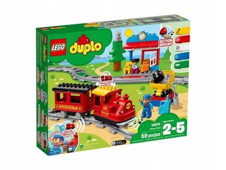 KLOCKI LEGO 10874 Duplo Pociąg parowy
