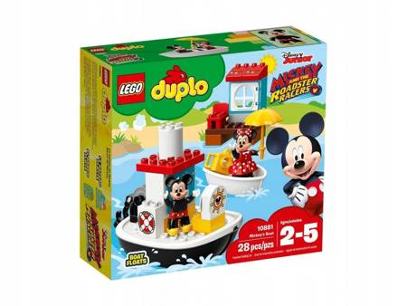 KLOCKI LEGO 10881 Duplo Łódka Mikiego