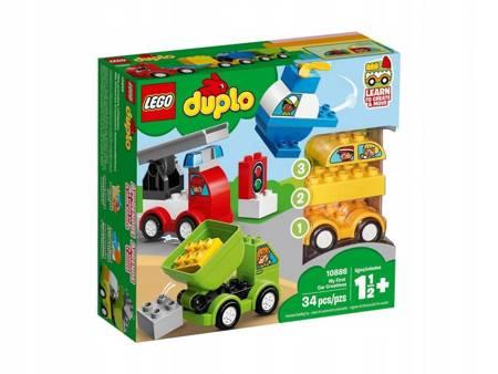 KLOCKI LEGO 10886 Duplo Moje pierwsze samochodziki