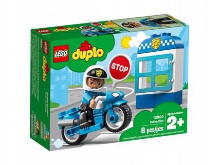 KLOCKI LEGO 10900 Duplo Motocykl policyjny
