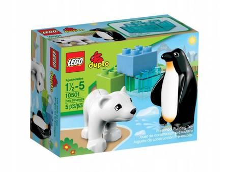 Klocki LEGO 10501 Duplo Przyjaciele z zoo