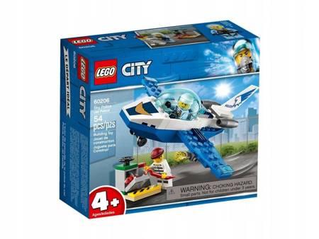Klocki LEGO 60206 City Policyjny patrol powietrzny