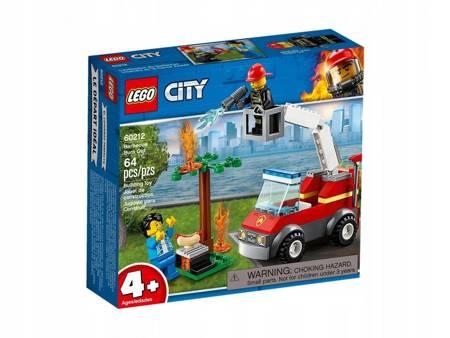 Klocki LEGO 60212 City Płonący grill