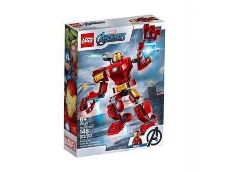 Klocki LEGO 76140 Marvel Avengers Mech Iron Mana