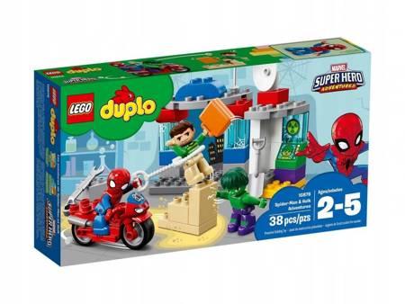 LEGO 10876 Duplo Przygody Spider-Mana i Hulka