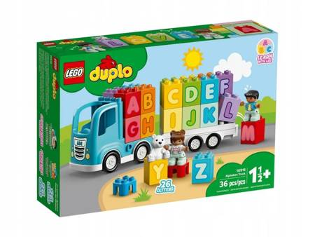 LEGO 10915 Duplo Ciężarówka z alfabetem
