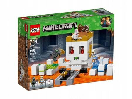 LEGO 21145 Minecraft Czaszkowa arena