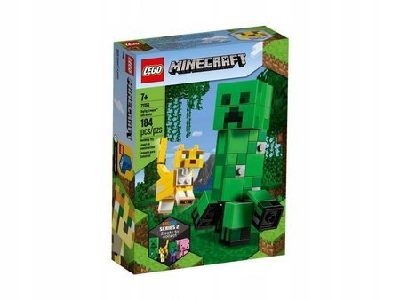 LEGO 21156 Minecraft BigFig Creeper i Ocelot