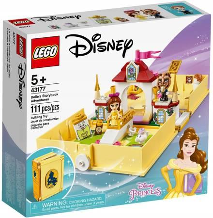LEGO 43177 Disney Książka z przygodami Belli