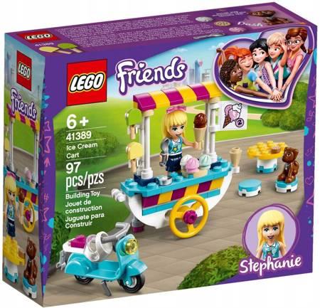 LEGO FRIENDS 41389 Wózek z lodami