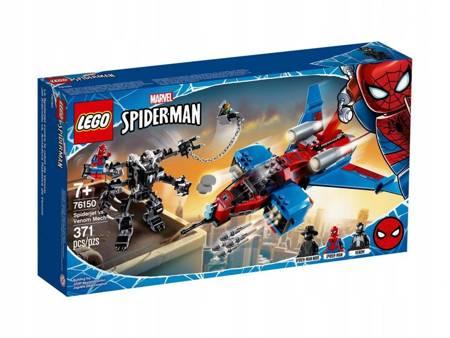 Lego Super Heroes Pajęczy odrzutowiec 76150