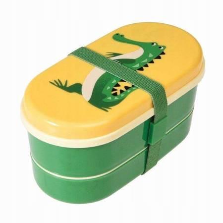 Lunchbox Bento Śniadaniówka Krokodyl Rex London