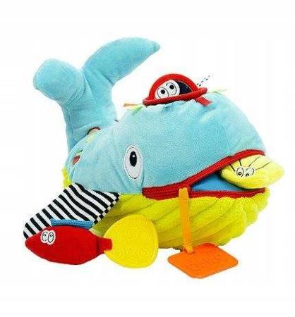 Zabawka sensoryczna Ucz Się i Baw Wieloryb Dolce